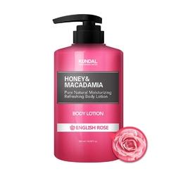 Kundal balsam do ciała- angielska róża honeymacadamia body lotion english rose 500ml