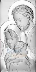 Obrazek bc64743 święta rodzina 12 x 24 cm.