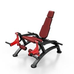 Maszyna na wolny ciężar na mięsień czworogłowy uda mf-u011 - marbo sport - bordowy  antracyt metalic