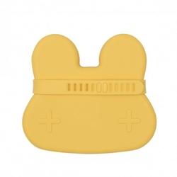 Zamykany silikonowy pojemnik we might be tiny - żółty króliczek