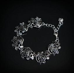 Różany ogród - bransoletka