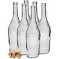 butelki na nalewki 500 ml 6 szt. z korkami