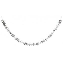 Meri meri - girlanda łańcuch srebrny