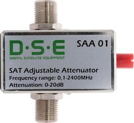 Tłumik kątowy reg. SAT DSE SAA01 5-2400Mhz - Szybka dostawa lub możliwość odbioru w 39 miastach