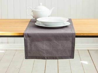 Bieżnik na stół altom design bawełniany brązowy 40 x 140 cm