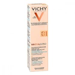 Vichy mineralblend makeup 01 clay fluid