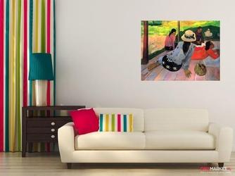 siesta - paul gauguin ; obraz - reprodukcja