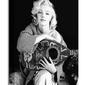 Marilyn monroe lute - obraz na płótnie