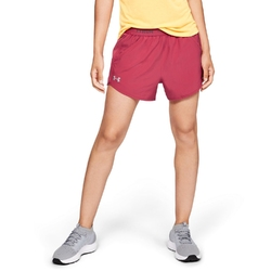 Spodenki krótkie damskie under armour fly by graphic waistband short