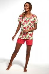Piżama damska cornette 342138 hawaii żółty