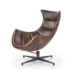 Skórzany fotel wypoczynkowy lusso