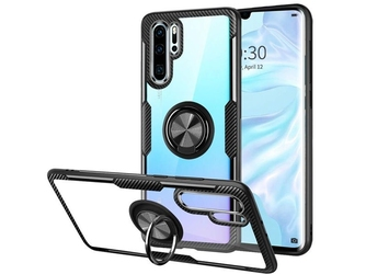 Etui alogy ring holder clear armor do huawei p30 pro czarne