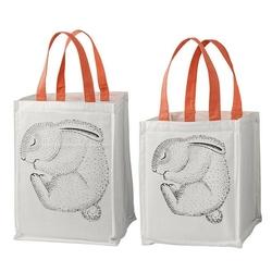 Pojemniki z materiału śpiący króliczek bloomingville