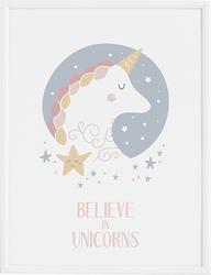 Plakat Star  Unicorn 40 x 50 cm