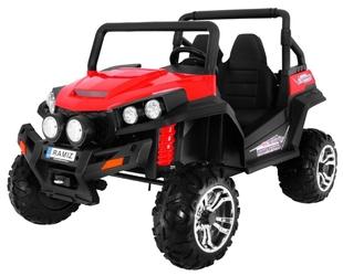 Grand buggy 4x4 czerwony dwuosobowy pojazd terenowy