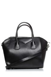 Czarna stylowa torebka na rączkach