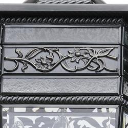 Lampa wisząca zewnętrzna czarny mosiądz chiaro street 801010403