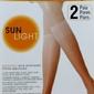 Omsa  sun light 8 den a2 2-pack podkolanówki