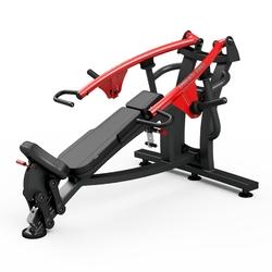 Maszyna na wolny ciężar na klatkę piersiową w skosie dodatnim mf-u004 - marbo sport - czarny  antracyt metalic