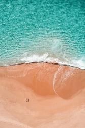 Lato na plaży - duży plakat