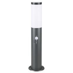 Lampka lampa ogrodowa antracyt 48cm czujnik ruchu