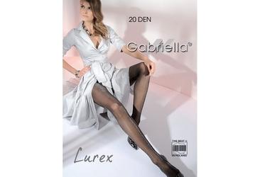 Lurex 20 den gabriella rajstopy