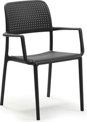 Krzesło ogrodowe bora antracytowe