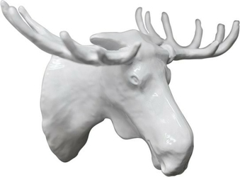 Wieszak moosehead biały