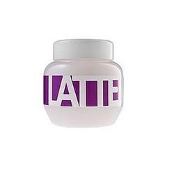 Kallos latte hair mask kosmetyki damskie - maska do włosów zniszczonych farbowaniem 275ml - 275ml