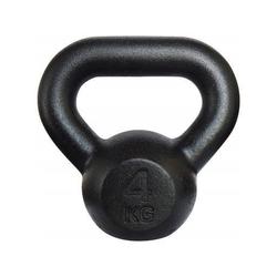 Kettlebell żeliwny 4 kg - 4 kg