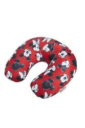 Poduszka podróżna z animacją myszki mini i miki - mickeyminnie red