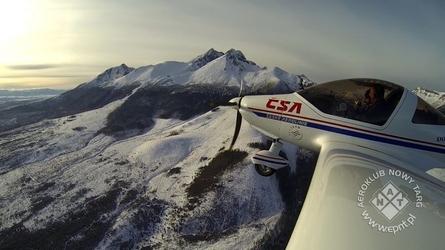 Lot widokowy samolotem dla dwojga - zakopane - cessna 172 - 40 minut