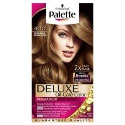 Palette, deluxe, farba do włosów, 400 średni blond