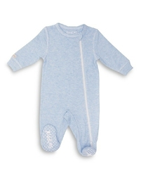 Pajacyk dla dziecka - niebieski melanż 0-3 m