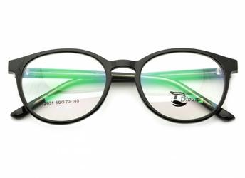 Oprawki okularowe pod korekcję lenonki st2931 czarne