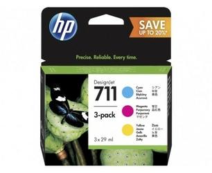 HP Inc. 711 29ml 3-Pack CMY P2V32A