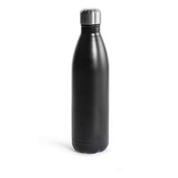 Sagaform - to go - butelka termiczna 0,75 l, czarna - czarny
