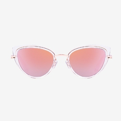 Okulary hawkers air rose gold feline