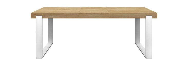 Miloni :: stół frame natural 180cm  biały