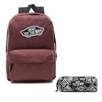 Zestaw Plecak VANS Realm Backpack - VN0A3UI6ALI + piórnik OTW Pencil Pouch