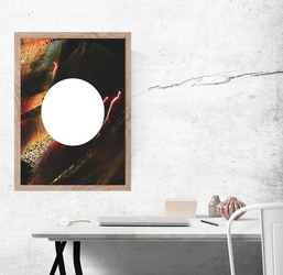 Pierwiastek - plakat premium wymiar do wyboru: 29,7x42 cm