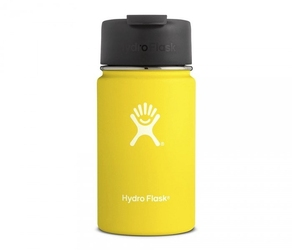 Kubek termiczny hydro flask 354 ml coffee wide mouth żółty-lemon