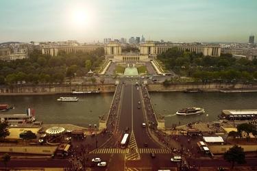 Fototapeta na ścianę ulica paryża fp 2305