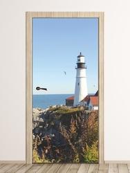 Fototapeta na drzwi latarnia morska p81