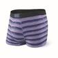 Bokserki męskie saxx vibe trunk purple coast stripe - fioletowy