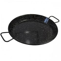 Profesjonalna patelnia paella czarna 30 cm