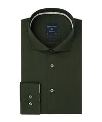 Zielona koszula profuomo super slim fit 45