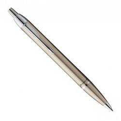 Długopis parker im brushed metal ct+etui +grawer
