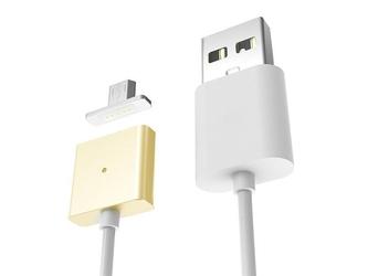 Kabel magnetyczny micro usb uniwersalny złoty - złoty