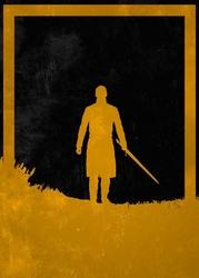 Dusk of villains - tywin lannister, gra o tron - plakat wymiar do wyboru: 59,4x84,1 cm